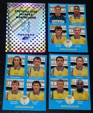 PANINI FOOT 96 FC SOCHAUX MONTBELIARD FCSM COMPLET FOOTBALL SAISON 1995-1996