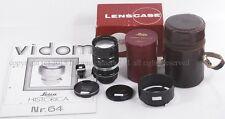 *Black Paint* Leica Summarex 85mm f/1.5 LTM w/finder hood Full set Pre WWII 1943