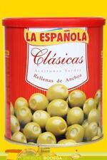 La Espanola Grüne Oliven mit Sardellen Clasicas 01920 -- 345 g (GP 1,59€ /100g.)