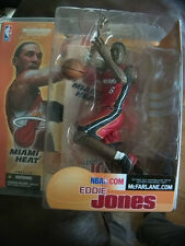 Eddie Jones McFARLANE SPORTSPICKS NBA Series 3 Chaleur uniforme RARE