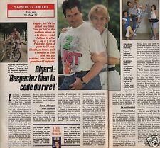Coupure de presse Clipping 1991 Jean Marie Bigard  (1 page 1/2)