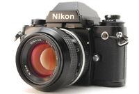 【N. MINT-】 Nikon F3 Eye Level SLR Film Camera + AI Nikkoer 50mm F/1.4 Lens Japan