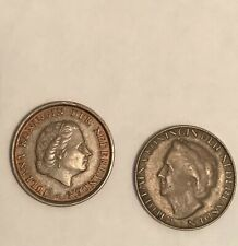 Netherlands Coins (2) 1953 and 1948 One Cent