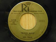 Mel Tillis 45 Buried Alive bw Wine   RIC VG+