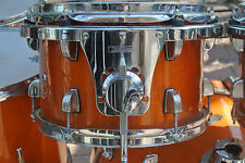 "ADD this LUDWIG 12"" ACCENT CS CUSTOM RACK TOM in AMBER to YOUR DRUM SET! #Y64"