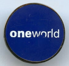 American Airlines One World Pin Badge !!!