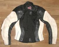 >>> HEIN GERICKE Damen-  Motorrad - Lederjacke / Biker- Kombi- Jacke in ca. 36