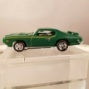 69 GTO Judge  MoDEL MoToRING Green  HO slot car T-jet 500 Custom Wheels
