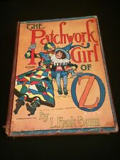 Vintage Hardcover The Patchwork of Oz Frank Baum The Reilly & Lee Co. John Neill