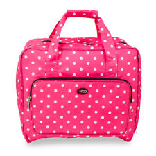 Sewing Machine Bag, Carry Case, Storage Cover in Pink Polka Dot