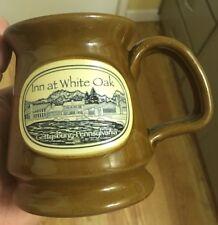 RARE Handthrown Deneen Pottery Coffee Mug Cup Inn at White Oak Gettysburg PA EUC