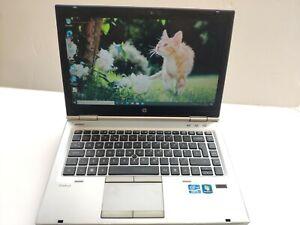HP EliteBook 8460p Laptop Intel i5-2520M @ 2.50 Ghz 4 GB, 320 GB, Win 10, DVDRW