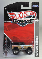 Hot Wheels Garage Series '67 Ford Bronco from J case