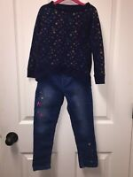 Gymboree Girls Outfit/Set Top (Size 4), Bottoms (Size 5)