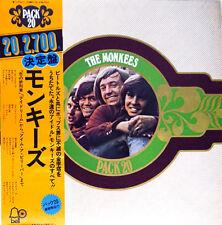 "MONKEES ""Pack 20"" Rare! Japan ONLY Lp w/Obi/lyric BEATLES DAVY JONES PETER TORK"