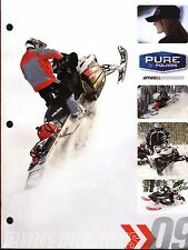 HUGE 2009 POLARIS SNOWMOBILE APPAREL & ACCESSORIES SALES CATALOG BROCHURE (811)