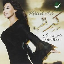 Kibir' El Hob   by  Najwa Karam (Artist)  CD Arabic Music