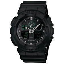 Casio Men's Watch Ana-Digi Black and Grey Digital Dial Strap GA100MB-1A