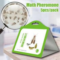 5x/Pantry Kitchen Food Moth Pheromone Attractant Moth Killer Moth Trap