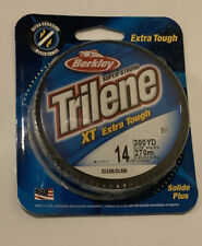 Berkley Trilene Xt Extra Tough 14Lb Fishing Line Clear 300Yds - New/Package