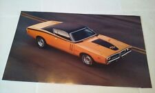 1971 Dodge Charger R/T 440 Six Pack Muscle Car Picture Poster from a Calendar