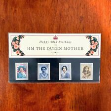 Vintage 1990 Royal Mail Happy 90th Birthday to HM The Queen Mother Stamps