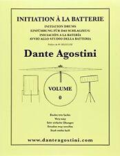 Dante Agostini Metodo di Batteria Vol. 0