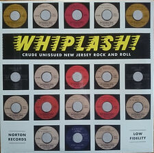 Whiplash - Crude Unissued New Jersey Rock And Roll LP Norton Records