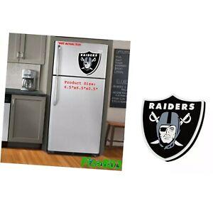 NFL Oakland Raiders 3D Foam Logo Magnet Home Office Bar Decor