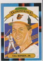1988 Leaf #26 Cal Ripken Jr. (French) card, Baltimore Orioles HOF