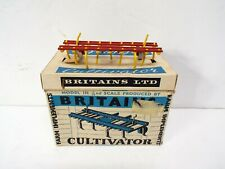 BRITAINS 9536 CULTIVATOR IMPLEMENT BOXED (BS2720)