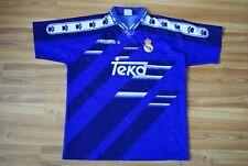REAL MADRID SPAIN 1994/1996 AWAY FOOTBALL SOCCER SHIRT JERSEY CAMISETA KELME L
