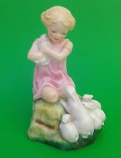 Vintage Royal Worcester Figure MY FAVOURITE 3014 By Freda Doughty dated 1952