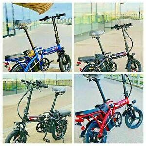 Electric Bike Folding E Bicycle Twist & Go! - 48v 250W / 350W 4 Colours - Unisex