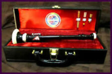 CP Brand New BOMBARD OBOE Black African Wood Flute Chanter With Hard Carry Case