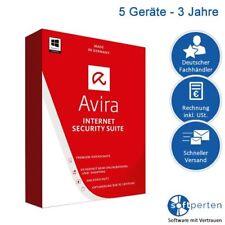 Avira Internet Security Suite 2017, 5 PC / 3 Jahre, ESD, Download, Deutsch, Neu