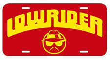 Lowrider ~ License Plate/Tag ~  car/truck (Impala Cutlass Hydraulics Air bags)OG