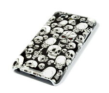Hülle f Samsung Galaxy S Advance i9070 Schutzhülle Tasche Case Totenköpfe Skull