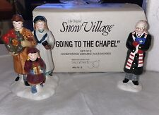 Dept 56 Christmas In The City�Going To The Chapel� Snow Village, Mib, Rare!