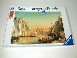 3000 Pieces Puzzle Friedrich Nerly - Canale Grande - Ravensburger - Rarity