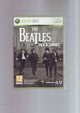 THE BEATLES ROCKBAND - MICROSOFT XBOX 360 GAME Fast Post ORIGINAL & COMPLETE VGC