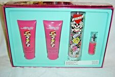 ED HARDY Love Kills Slowly Eau de Parfum Sprays/Lotion/Gel  ~NEW~BOXED (SET/4)