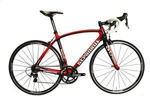 STRADALLI NAPOLI ROAD BICYCLE CARBON FIBER BIKE SHIMANO 8000 FSA GOSSAMER VISION