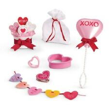 American Girl FRIENDS ARE SWEET SET balloons, card, faux cookie bouquet, garland