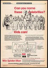 MARVEL COMICS Licensing__Original 1980 Trade AD poster__FANTASTIC FOUR_THOR_HULK