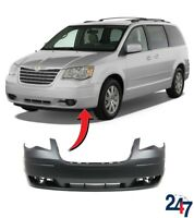 NEW CHRYSLER VOYAGER 2008 - 2015 BARE PLAIN FRONT BUMPER COVER 1BG23TZZAA