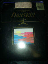 Danskin ultra shimmery Tights footless baile medias talla a/b light tostada OVP