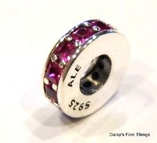 NEW/TAGS AUTHENTIC PANDORA CHARM  ETERNITY RUBY RED SPACER #791724SRU