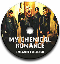 MY CHEMICAL ROMANCE HEAVY ROCK GUITAR TAB TABLATURE SONG BOOK SOFTWARE CD