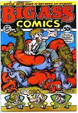 BIG ASS COMICS #2 - Comix - Crumb - 1st printing - High grade!